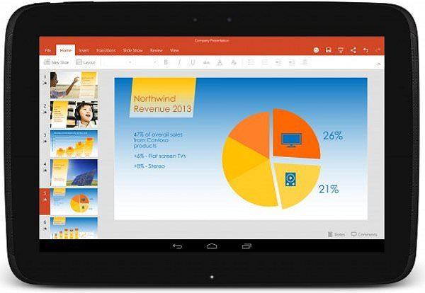 Microsofts tjänster kommer även förinstalleras på plattor från LG och Sony