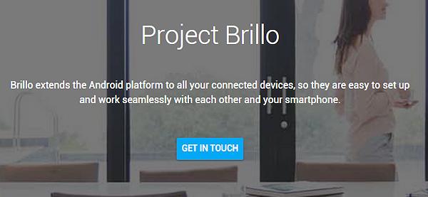 Project Brillo är Googles satsning på Internet of Things