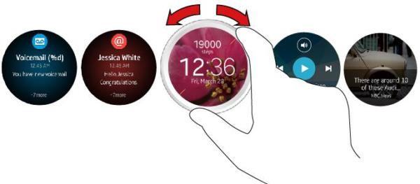 Samsungs nya Tizen-smartklocka har vridbar ram
