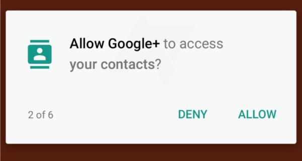 Android M ger användare kontroll över enskilda systemtillåtelser