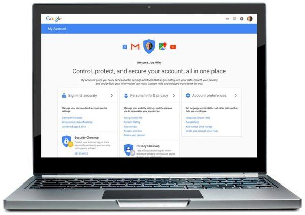 Google ger användare bättre kontroll över integritetsinställningar