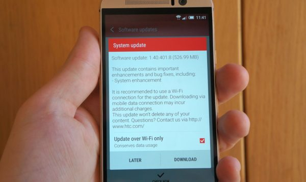 HTC One M9 får bättre batteritid och kamera efter OTA-uppdatering