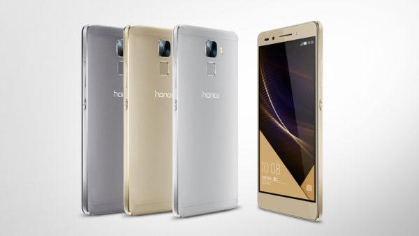 Huawei lanserar Honor 7 med fingeravtrycksläsare och 64-bitarschipp
