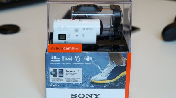 Hands-on med Sony Action Cam Mini HDR-AZ1