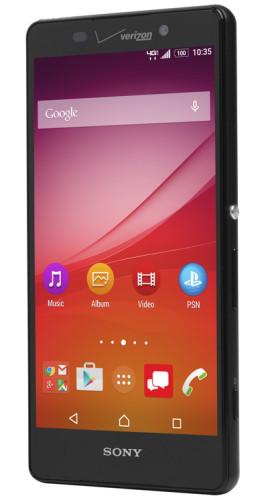 Sony presenterar Xperia Z4v i USA med 2560 x 1440 pixlar
