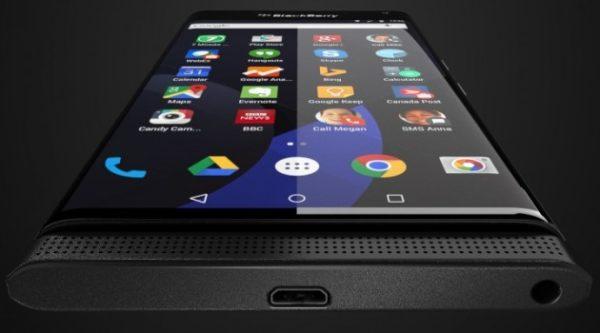 Hands on-video med BlackBerrys Androidmobil dyker upp på YouTube