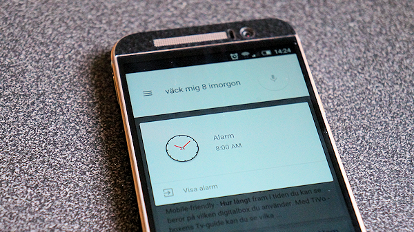 De här röstkommandona fungerar på svenska i Android