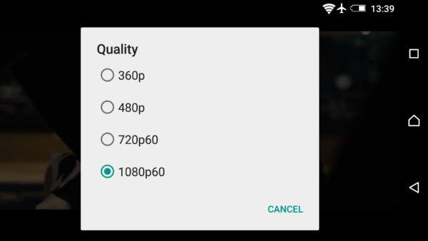Nu stödjer YouTube-appen videouppspelning med 60fps