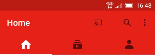 YouTube-appen får nytt gränssnitt utan sidomeny