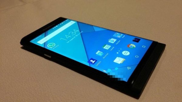 Nya bilder på Androidmobilen från Blackberry