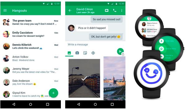 Google presenterar Hangouts 4.0, släpps idag