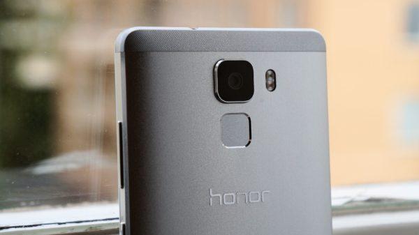 En första titt på metallmobilen Huawei Honor 7