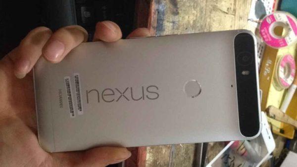 Fotografier på Huaweis första Nexus-telefon