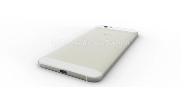 Så här kan Nexus-telefonen från Huawei eventuellt se ut