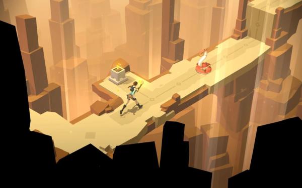 Nu finns Lara Croft GO att ladda hem i Play Store
