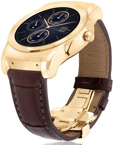 LG tillkännager lyxvariant av G Watch Urbane med guldram