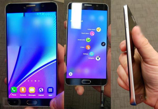 Rykte: Nya fotografier på Samsung Galaxy Note 5