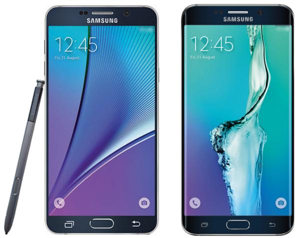 Första pressbilden på Samsung Galaxy Note 5 och Galaxy S6 Edge Plus? [Uppdaterad]