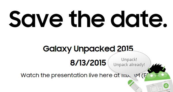 Följ Samsung Unpacked Live från New York – tre nya enheter avtäcks
