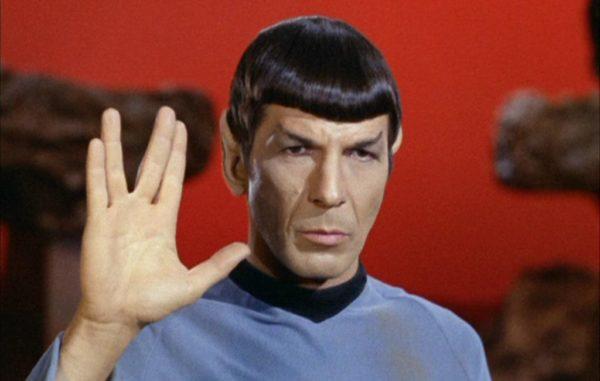 Hälsa som Spock i senaste WhatsApp