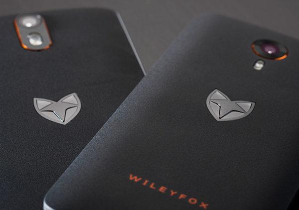 Nystartade Wileyfox presenterar två mobiler med Cyanogen OS