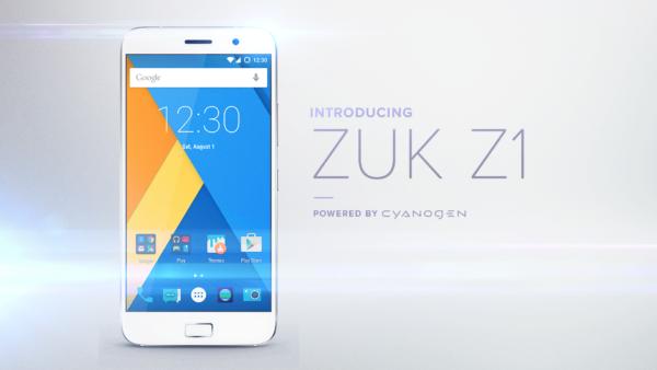 ZUK Z1 kommer att säljas globalt, kör Cyanogen OS