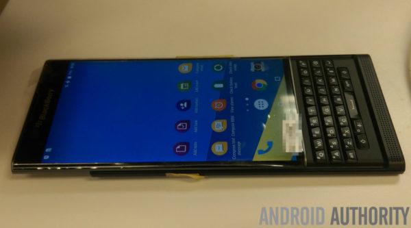 Senaste bilderna på BlackBerrys Androidmobil