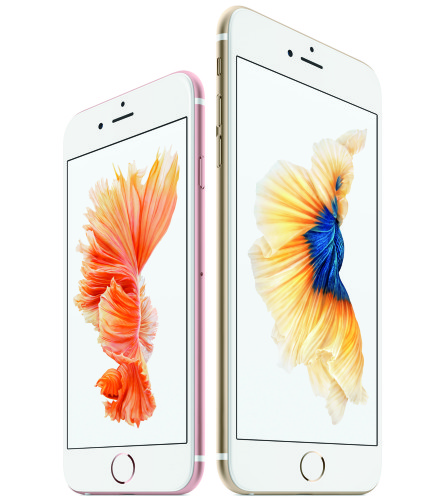 Apple introducerar Iphone 6s och Iphone 6s Plus med 3D Touch