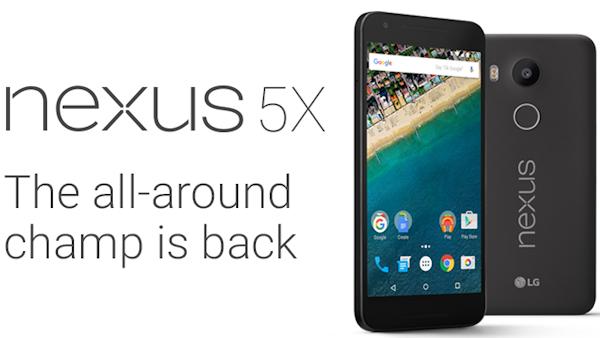 Här är specifikationerna för LG Nexus 5X, har 2GB RAM