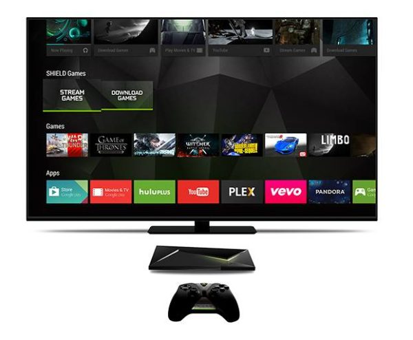 Nvidia lanserar spelkonsolen och mediaspelaren Shield Android TV i Sverige