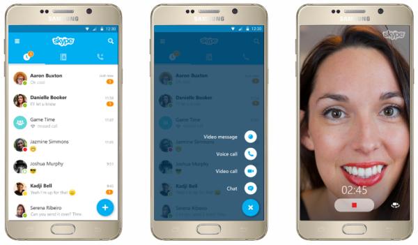 """Microsoft släpper Skype 6.0 för Android med """"Material Design"""""""