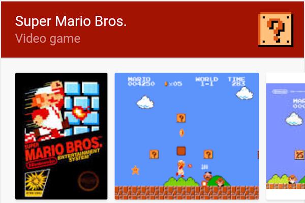 Google firar Super Marios 30-årsjubileum med påskägg