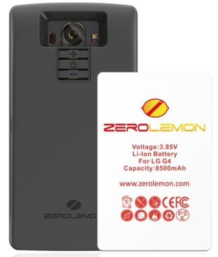 ZeroLemon släpper 8500mAh-batteri för LG G4