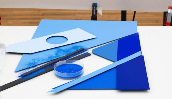 Bakgrundsbilderna i Marshmallow är skapade manuellt av svenska designern Carl Kleiner