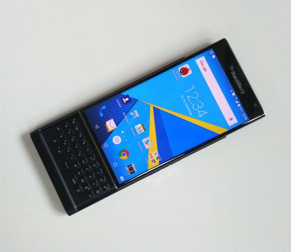 Ännu en hands-on med BlackBerry Priv