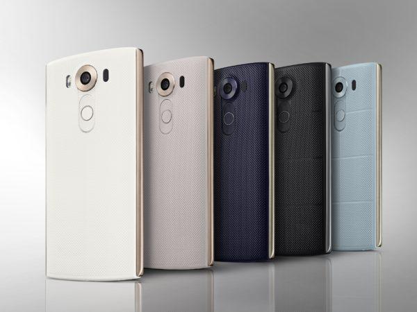 LG tillkännager V10 med dubbla skärmar och manuellt videoinspelningsläge
