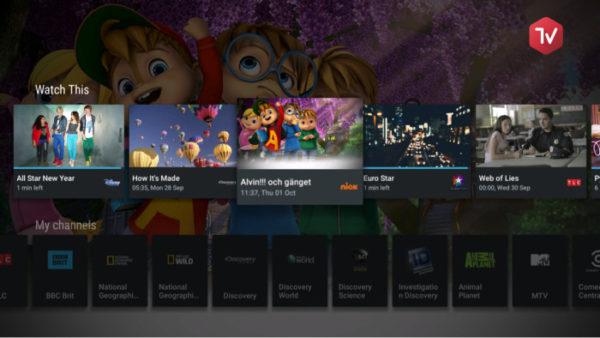 Magine TV får stöd för Android TV