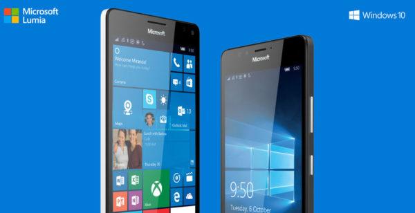 Microsoft lanserar Lumia 550 och vätskekylda Lumia 950, 950 XL [Konkurrensen]