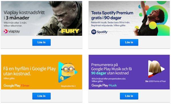 Chromecast-ägare erbjuds tre månaders Spotify Premium