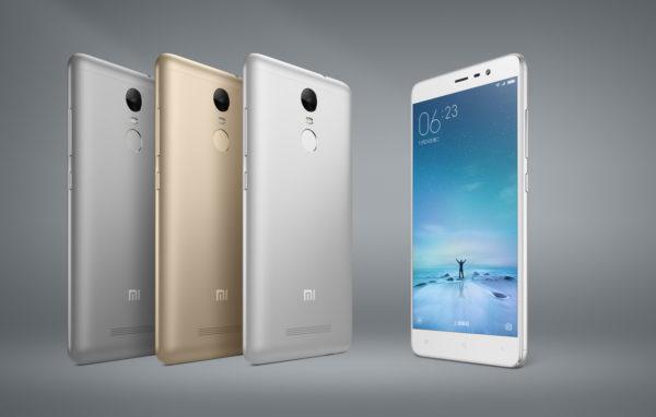 Xiaomi tillkännager Redmi Note 3 med 5,5-tumsskärm och 4000mAh-batteri