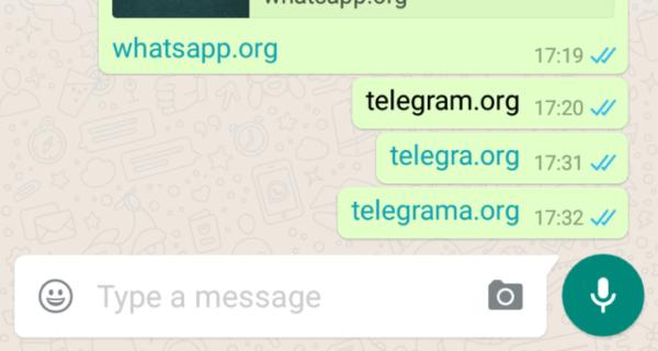 WhatsApp har börjat blockera länkar till konkurrerande Telegram