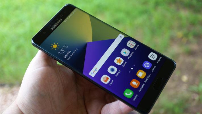 Vi testar Samsung Galaxy Note 7