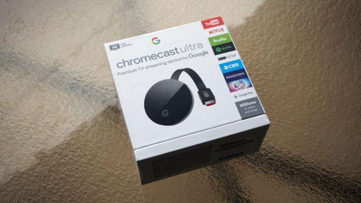Minitest av Chromecast Ultra